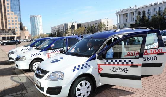 Такси чиновников Астаны обойдется государству в 163 млн тенге