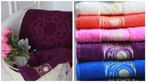 Появились полотенца с элементами флага Казахстана (фото)