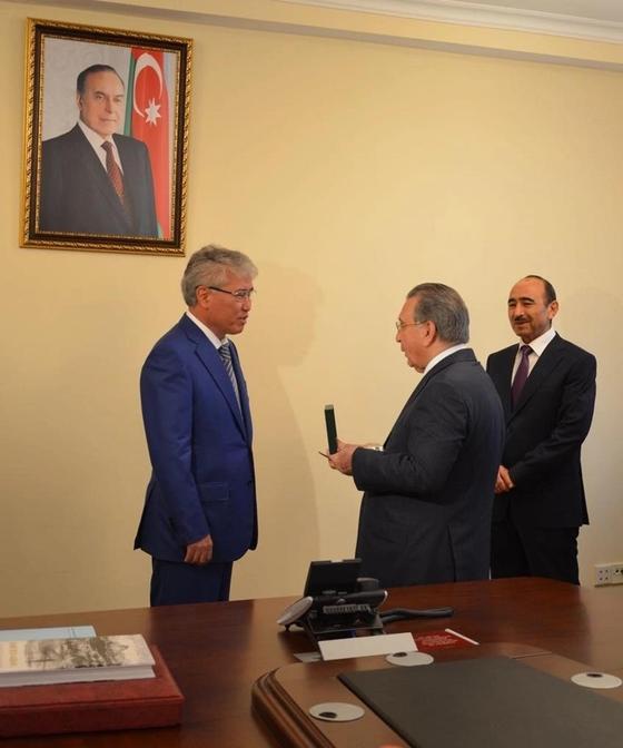 Роль президентов Казахстана и Азербайджана обсудили в Баку