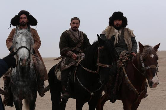 Осенью телеканал Хабар покажет исторический сериал о казахских батырах