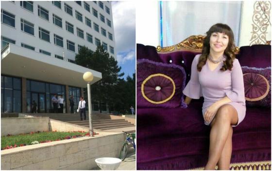 Трагедия Костанае: мужчина зарезал жену прямо в университете и выпрыгнул с 8 этажа