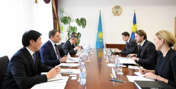 Казахстан и Швеция наметили перспективные направления сотрудничества
