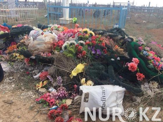 На антисанитарию на кладбище жалуются жезказганцы