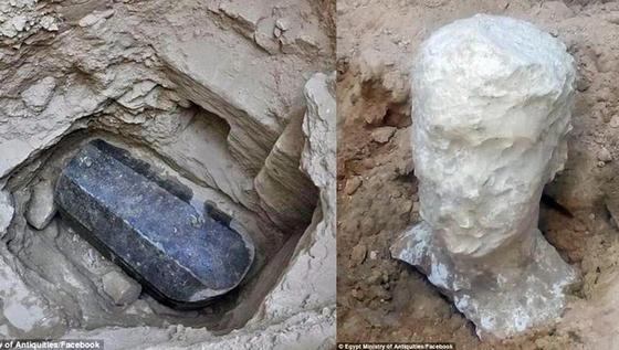 Что нашли внутри загадочного черного саркофага ученые (фото)