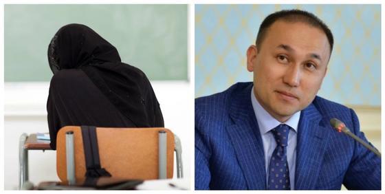 Абаев высказался о запрете на ношение хиджабов в школах Казахстана