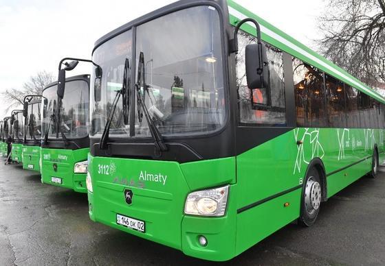 Обновлены автобусы на маршруте 137 в Алматы