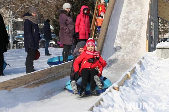 Масленица кутты болсын: Проводы зимы вызвали ажиотаж в Астане (фото)
