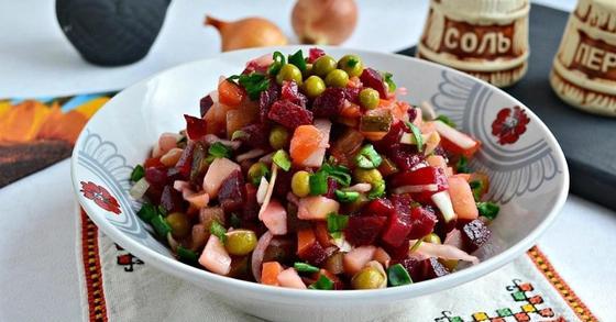 Винегрет: салат