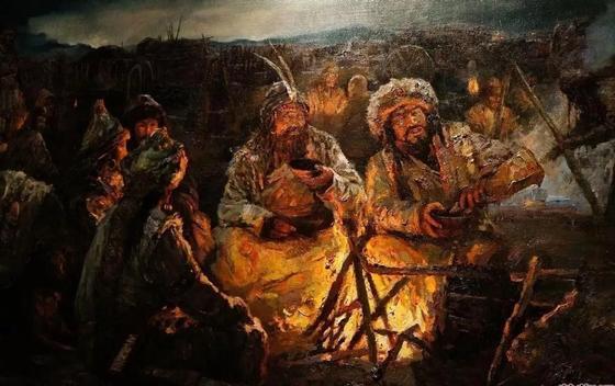 Где жили гунны на территории Казахстана