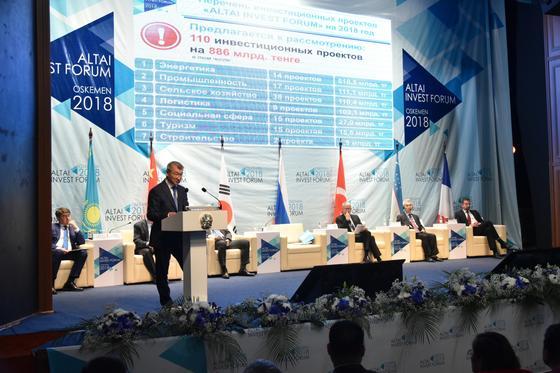 Почти 500 соглашений заключил ВКО с иностранными партнерами на «Altai Invest-2018»