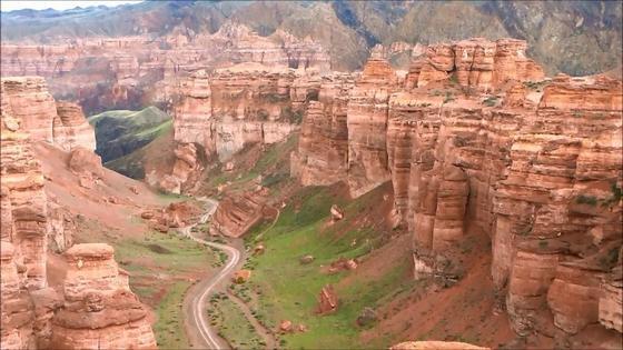 Чарынский каньон: история