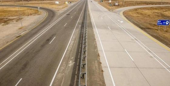 Открыли автодорогу в обход кордайского перевала