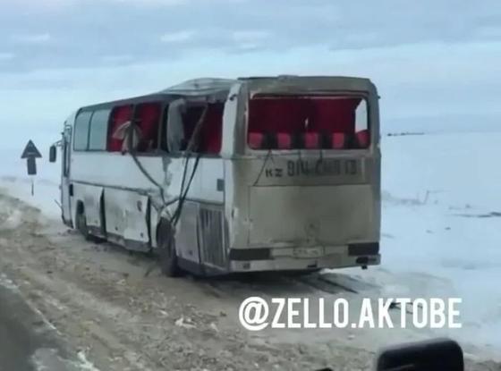 В Актобе произошло очередное ДТП с гражданами Узбекистана