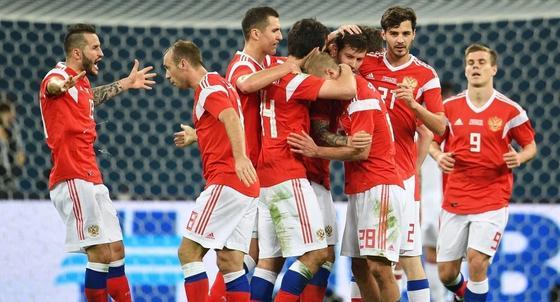 Сборная России обыграла Египет на Чемпионате мира-2018