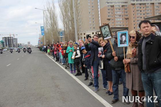Астана повторила рекорд по масштабам «Бессмертного полка» (фото)