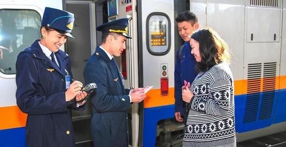 Новый график движения поездов вводится в Казахстане