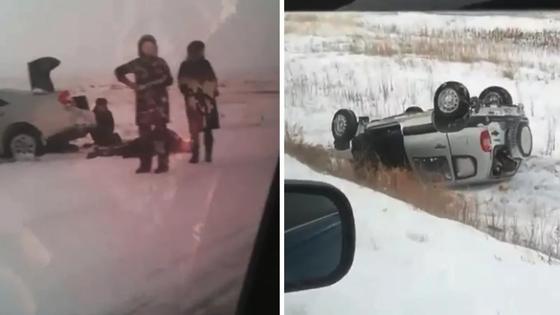 Шестеро погибли в двух кошмарных ДТП в Карагандинской области