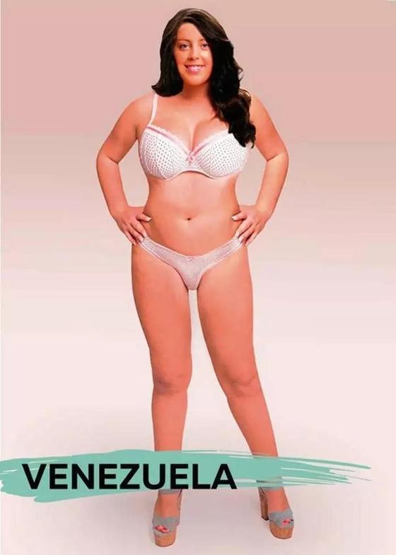 Одна девушка, фотошоп и стандарты красоты в 18 странах мира