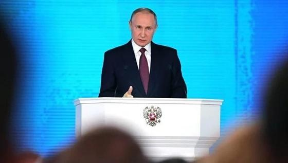 Путин: Россия создает новое оружие в ответ на действия США