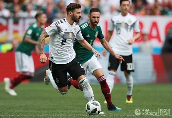 Сборная Мексики сенсационно обыграла действующего чемпиона мира
