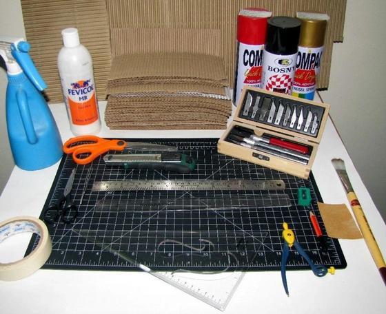 Инструменты для изготовления фоторамки