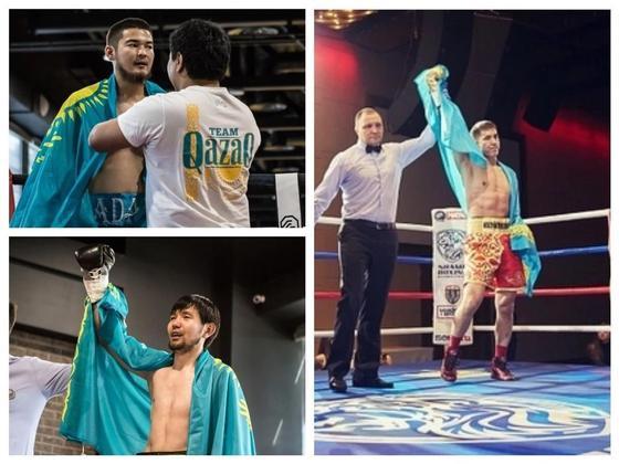 Трое казахстанцев стали триумфаторами вечера бокса в Москве