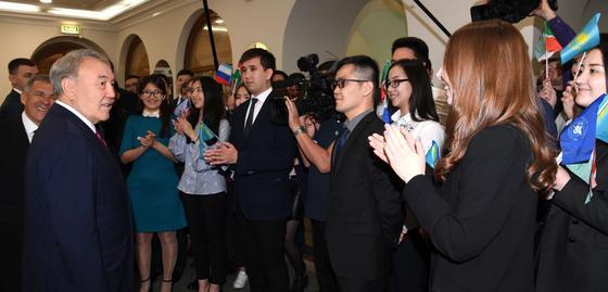 Назарбаев: В Казахстане по-особенному относятся к братскому Татарстану