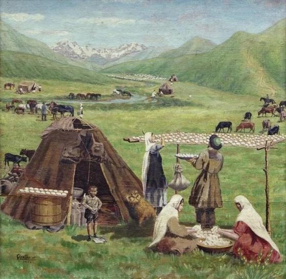 Знаменитые художники Казахстана и их картины