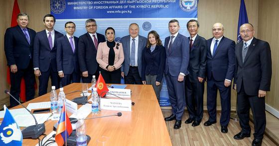 Межмидовские консультации состоялись в Бишкеке