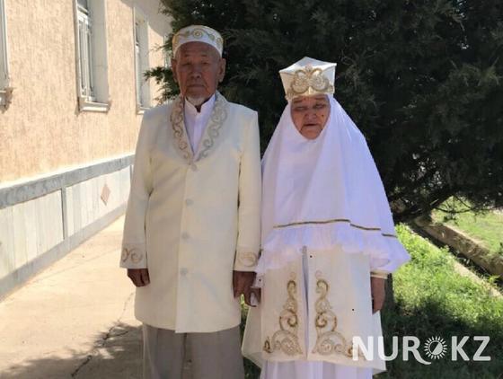12.08 60 лет вместе: Семейная пара из Шымкента отметила бриллиантовую свадьбу