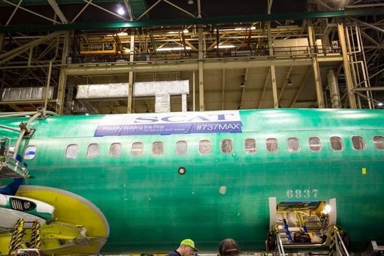 Эксклюзивные фотографии сборки первого Boeing-737 MAX 8 Авиакомпании SCAT