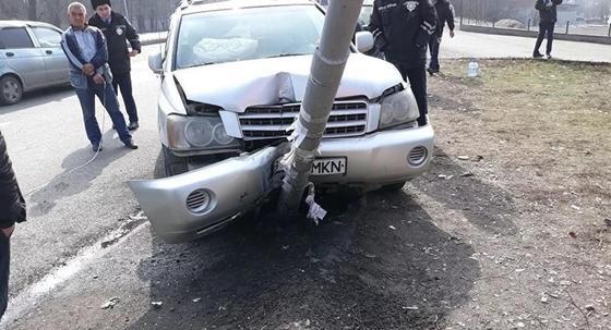 Водитель умер за рулем в Алматы