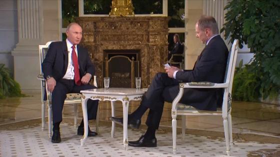 Путин во время интервью на немецком урезонил австрийского журналиста