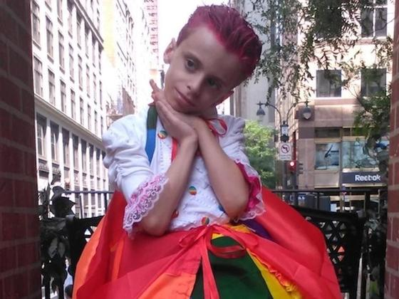 """10-летний трансгендер """"взорвал"""" Нью-Йоркскую неделю моды"""