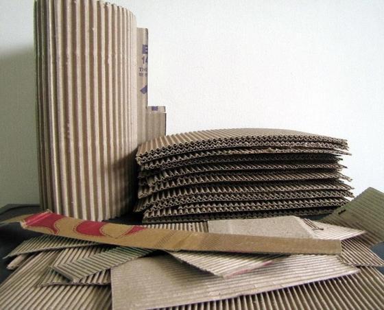 Подготовка картона для изготовления фоторамки