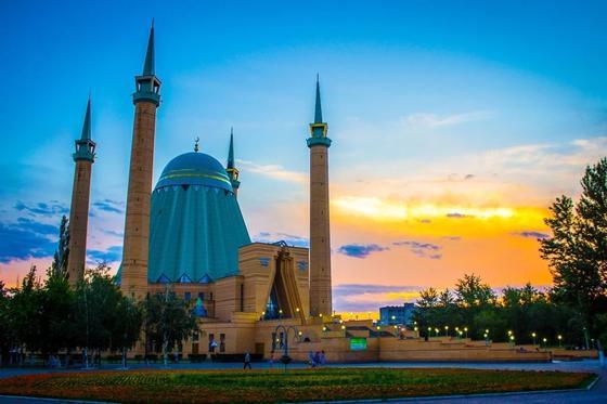 Мечеть имени Машхура Жусупа