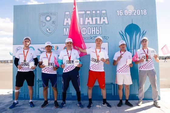 Команда компании «Мечта» приняла участие в «Astana Marathon 2018»
