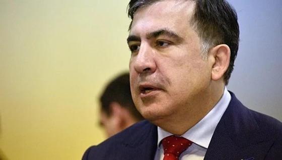 Саакашвили опубликовал видео задержания, на котором его таскают за волосы (видео)