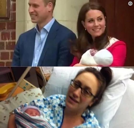 Герцогиня Кембриджская прекрасно выглядела после родов. Это не всем удается