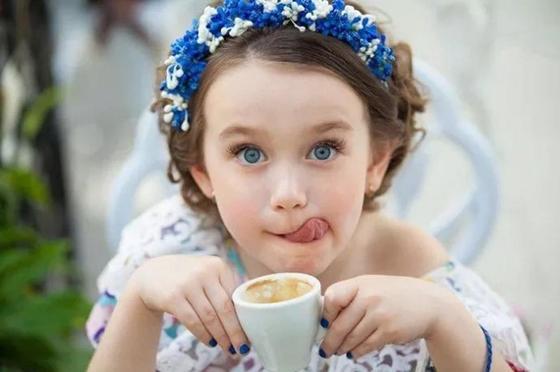 Польза кофе для детей