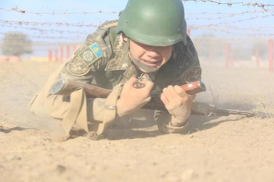 Определены лучшие взвода Сухопутных войск