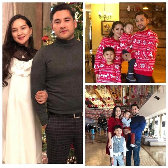 Салтанат Бакаева с семьей. Фото: Instagram