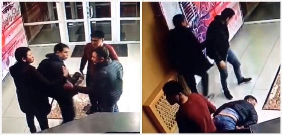 Полицейские устроили поножовщину в караоке- клубе в Костанае (видео)