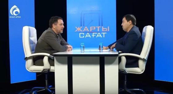 Российский телеведущий назвал Назарбаева отцом всех казахов
