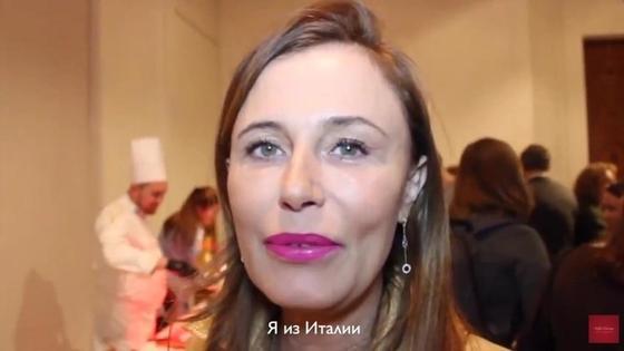 Меценат Моника Радикати оказалась единственной, кто знаком с казахской кухней. Скриншот видео «Royal Catering»