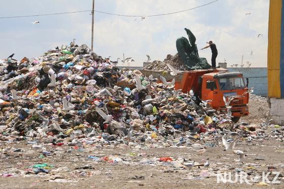 Главная помойка Астаны: Что делают на свалке с мусором астанчан (фото)