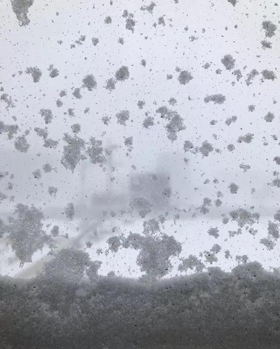 Страшный вой ветра и летающие люди: Астану накрыла дикая метель (фото, видео)