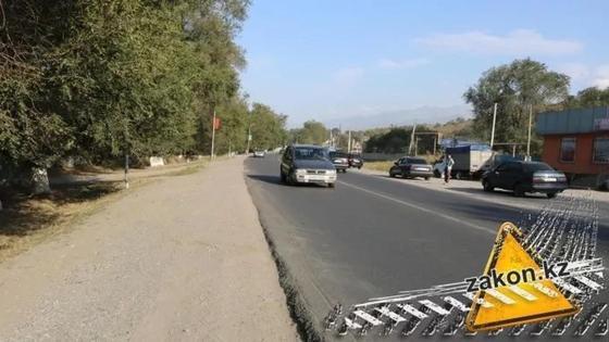Не дошел до дома 20 метров: мужчину насмерть сбили под Алматы