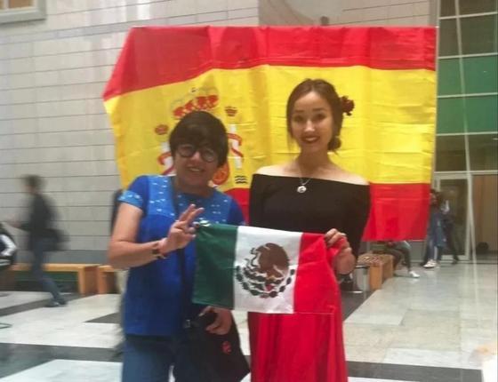 Влюбленная в Казахстан мексиканка за полгода выучила казахский язык (фото)