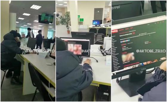 Мужчина смотрел порно в спецЦОНе Актобе
